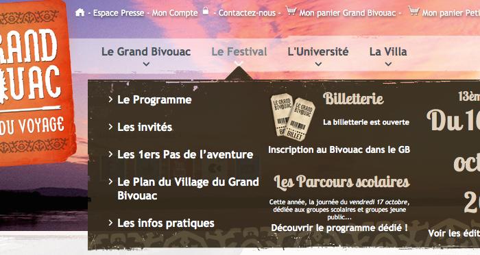Le Grand Bivouac – Festival du Voyage – 16 au 19 Octobre 2014 à Albertville