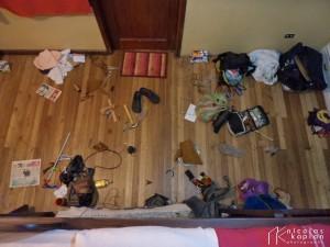 Dans ma chambre à l'Hostal Majache, Cuenca, Equateur