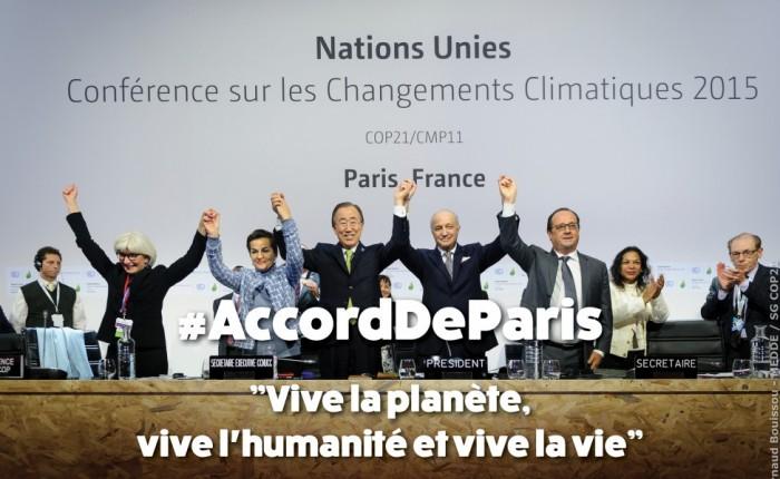 COP21 – Comprendre d'où vient l'Agrément Mondial signé à Paris 2015