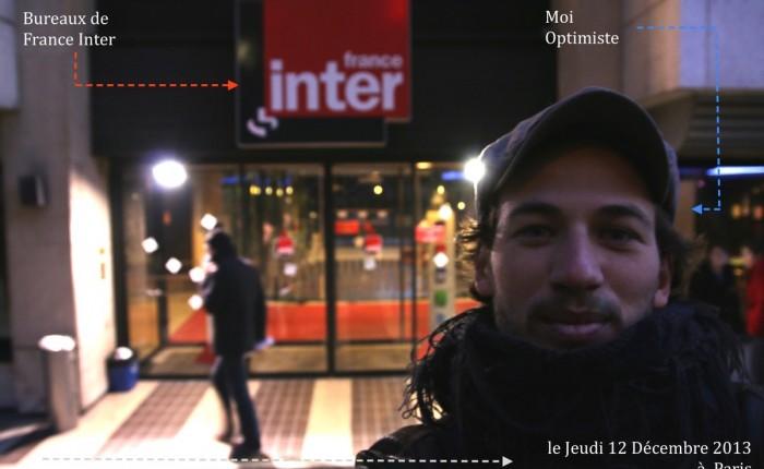Et pourquoi pas travailler à France Inter ?