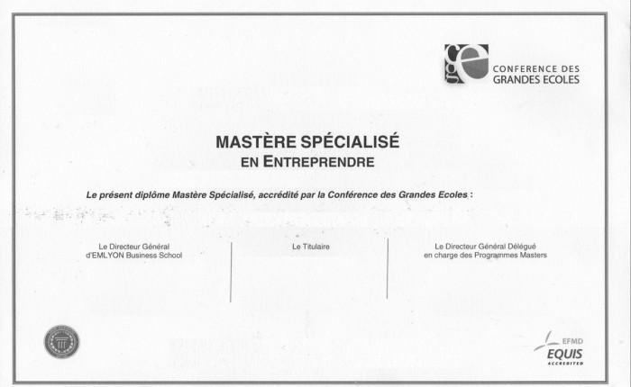 Dis «plôme» – La différence entre Master et Mastère