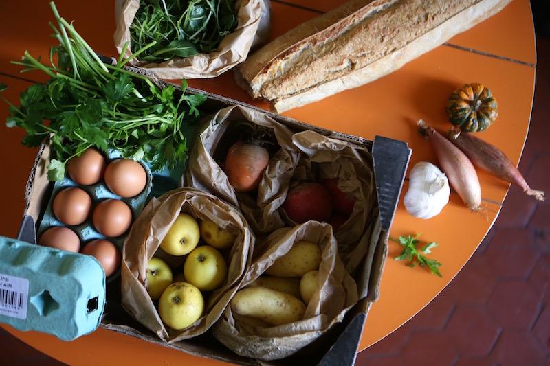 Légumes du marché, 1er Février 2017