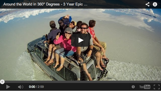 360° autour du Globe à dos de moto – The MMD