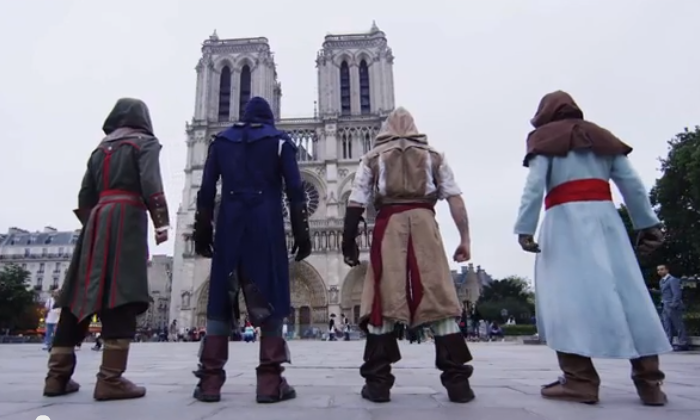Free Run ou Parcours, Assassin's creed-like dans Paris