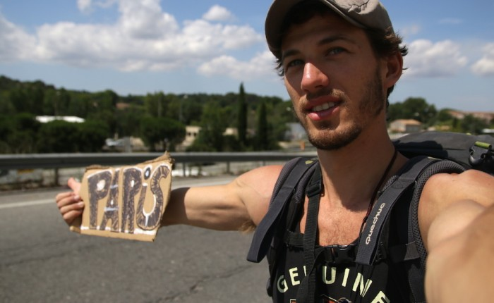 L'important c'est le chemin parcouru, pas le point d'arrivée – (Mon reportage AutoStop – Aix->Paris)