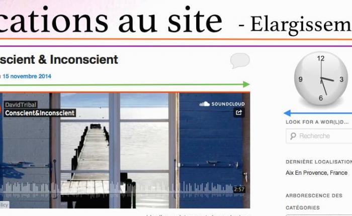 Elargissement des pages du site