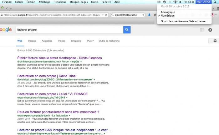 9ème sur la 1ère page de Google en moins d'un mois !